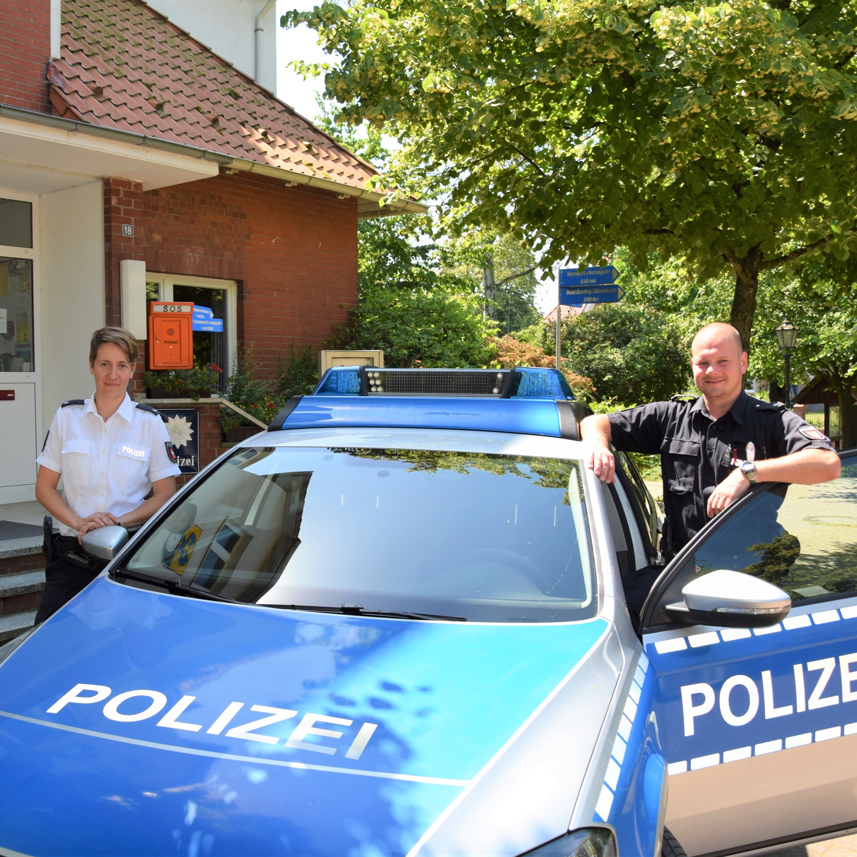 Polizeistation Stelle
